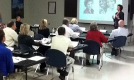 Peggy leading a Corporate Image Workshop